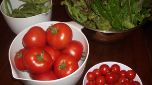 Read full article: Cherry Tomato and Green Bean Salad