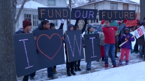 Read full article: Protesters March On Walker's Milwaukee-Area Home