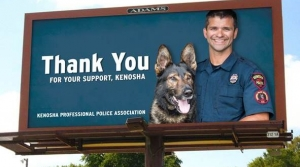 Read full article: Police Union Billboard Supporting Office Sparks Outrage In Kenosha
