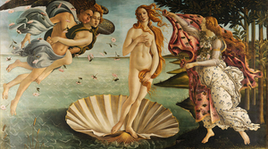 Boticelli's The Birth of Venus