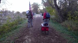 Read full article: Veterans Begin Cross-State Trek To Raise Awareness About Life With PTSD