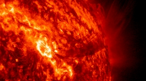 Sun activity.