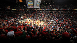 Milwaukee Bucks playoffs crowd