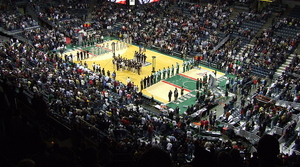 Milwaukee Bucks arena