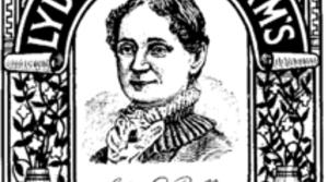 Lydia Pinkham label, public domain