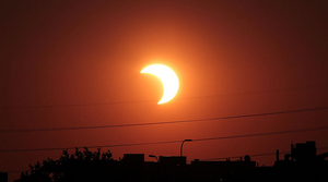 Partial Solar Eclipse, NASA Goddard Space Flight Center (CC-BY)