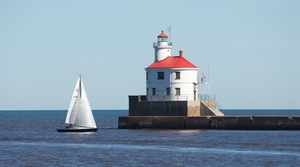 Wisconsin Point Lighthouse in Superior