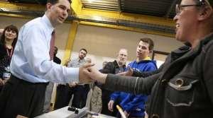 Scott Walker handshake