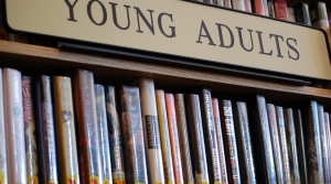 Young Adult book section