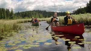 Canoeing, photo courtesy of Darren Bush