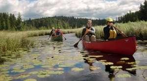 Canoeing, photo courtesy of Darren Bush