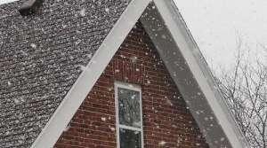 snow fall, photo by Michael Leland