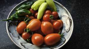 tomatoes and peppers, Jack Newton