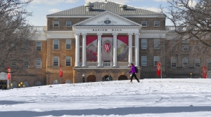 Bascom Hall on the UW-Madison campus