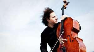 Photo of cellist Matt Haimovitz