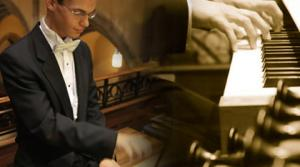 organist Nathan Laube