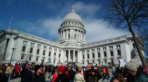 Read full article: Rallies surge day after Governor Walker signs budget repair legislation