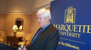 Read full article: Presidential speculation surrounds Gingrich at Milwaukee film screening