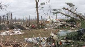 Read full article: Tornado hits Merrill, damages industrial park