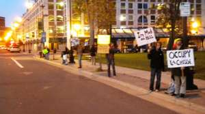 Read full article: Occupy La Crosse: same message, smaller scale