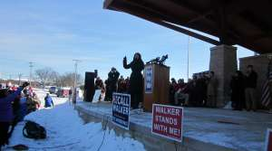 Read full article: Pro-Walker rally sets themes for campaign