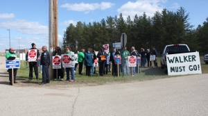 Read full article: Corrections officers protest Act 10 policy changes