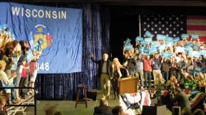 Read full article: Fresh Off the Debate, Biden Campaigns in La Crosse