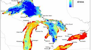 Read full article: Study Compiles Great Lakes Stress Maps