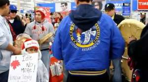 Read full article: Flash Mob At Ashland Wal-Mart Supports First Nation People