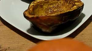 Read full article: Julie's Baked Acorn Squash with Peanut Butter