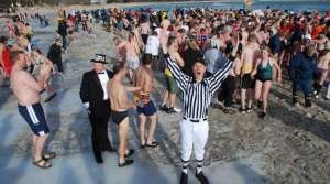 Read full article: New Year's Day Means Polar Plunges