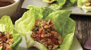 Read full article: Chicken Lettuce Cups with Hoisin Sauce