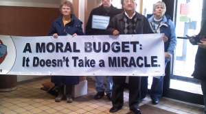 Read full article: Faith Leaders Protest Ryan Budget