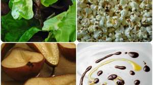 Read full article: Roasted Pear and Popcorn Salad