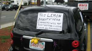 Read full article: Possible Lemon Law Revisions Upset Consumer Advocates
