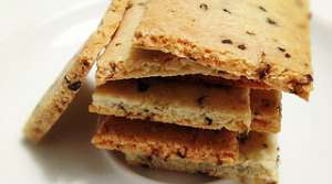 Read full article: Herb & Almond Crackers