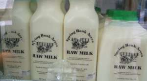 Read full article: Draft Plan Would Allow Farmers To Sell Raw Milk