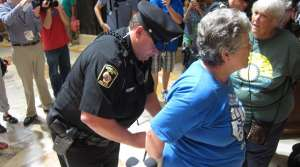 Read full article: Police Arrest 22 At Solidarity Sing Along Inside Capitol Building