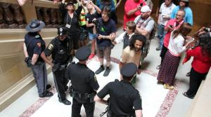 Read full article: Bigger Crowds, More Singers Arrested At Capitol