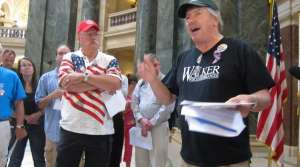 Read full article: 'We Got A Permit Singers' Gather At Capitol To Poke Fun At Solidarity Singers