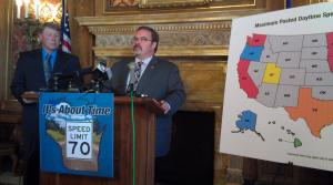 Read full article: Republican Lawmaker Proposes Increasing Speed Limit To 70 MPH