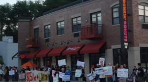 Read full article: Fast Food Workers Strike For Higher Wages, Better Conditions For Unionizing
