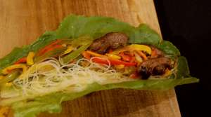 Read full article: Spicy Bison Lettuce Wraps