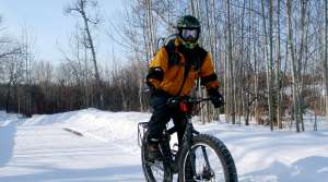 Read full article: Fat-Tire Bike Riders Hit Trails, Despite Cold