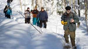 Read full article: Citizens Snowshoe Through Off-Limits Zone Near Mine, Receive No Tickets