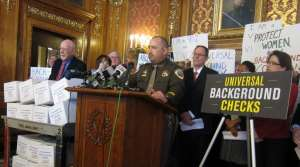 Read full article: Gun Safety Advocates Call For Bill To Require Background Checks