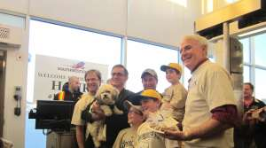Read full article: Rare Bipartisan Agreement On Brewers' New Dog, 'Hank'