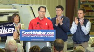 Read full article: Gov. Walker Officially Announces Re-Election Bid