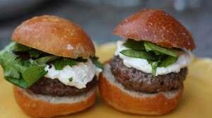 Read full article: Mushroom & Gorgonzola Turkey Burgers
