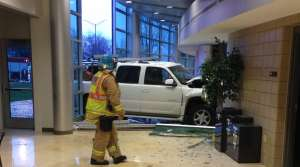 Read full article: SUV Crashes Into UW-Marathon County Theater, But Show Goes On